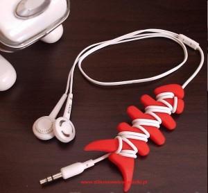silikonowy szkielet na słuchawki