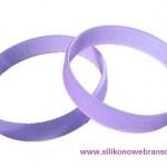 UV odblaskowe reklamowe opaski silikonowe